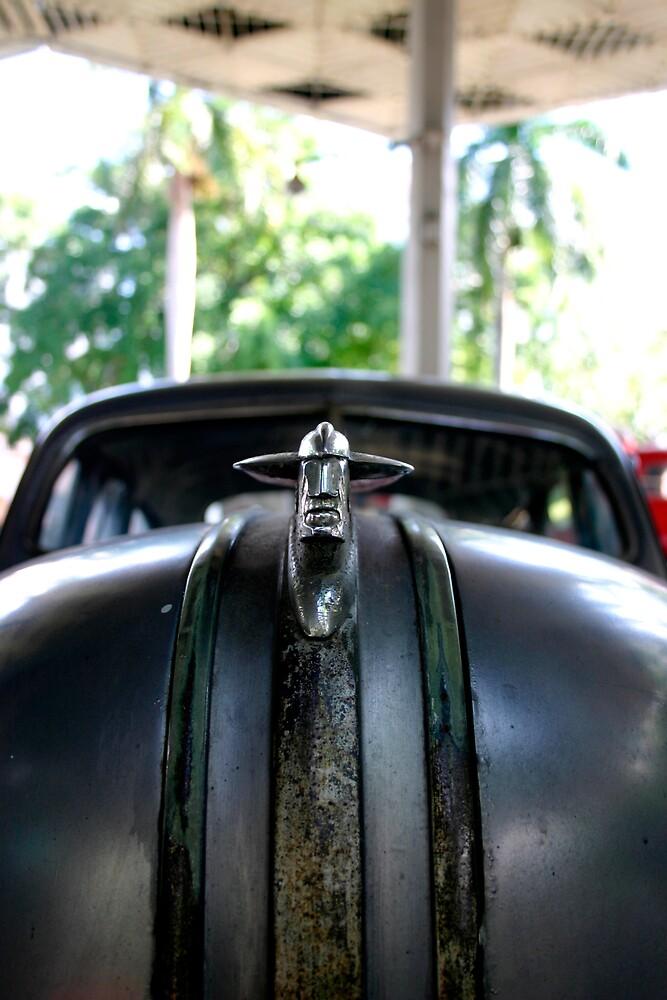 Cuban 50's Muscle Car Figurehead by gematrium