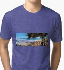 A Day at Coolum Tri-blend T-Shirt