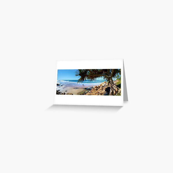 A Day at Coolum Greeting Card