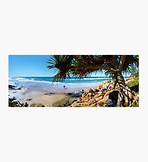 A Day at Coolum Photographic Print