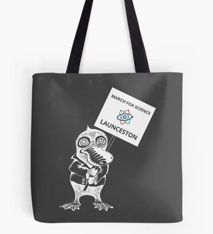 March for Science Launceston – Platypus, white Tote Bag