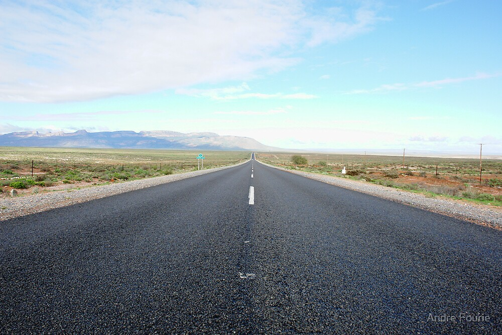 Road to nowhere by Andre Fourie