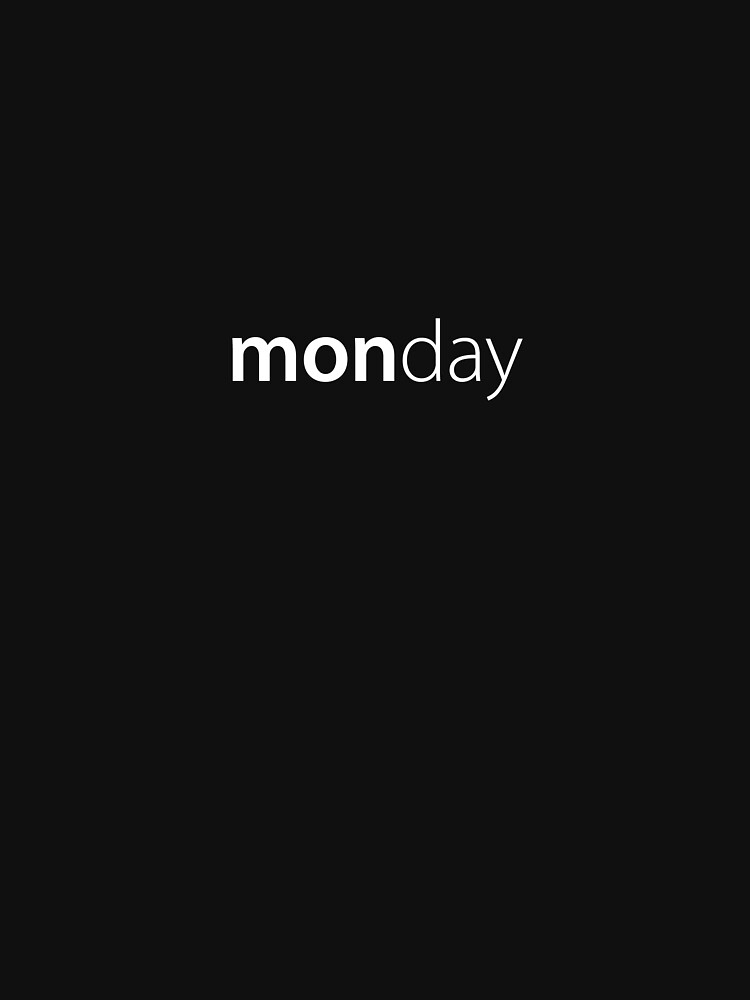Monday by russell