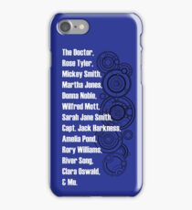 Doctor Who Companions iPhone Case/Skin