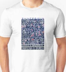 1990 Pamplona Spain Running of the Bulls Poster Unisex T-Shirt