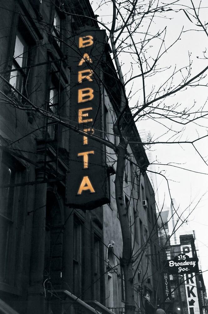 NYC - Barbetta by Matthew Tyrrell