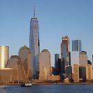 Lower Manhattan Skyline, New York City by lenspiro