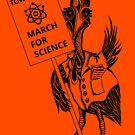 March for Science Townsville – Cassowary, black by sciencemarchau