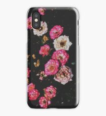 Pink and White Rose Cluster  iPhone Case