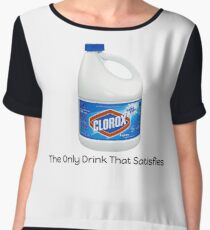 Bleach The Only Drink That Satisfies Chiffon Top