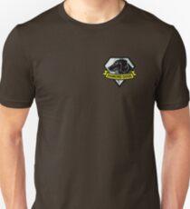 Metal Gear Solid V - Diamond Dogs Badge Slim Fit T-Shirt