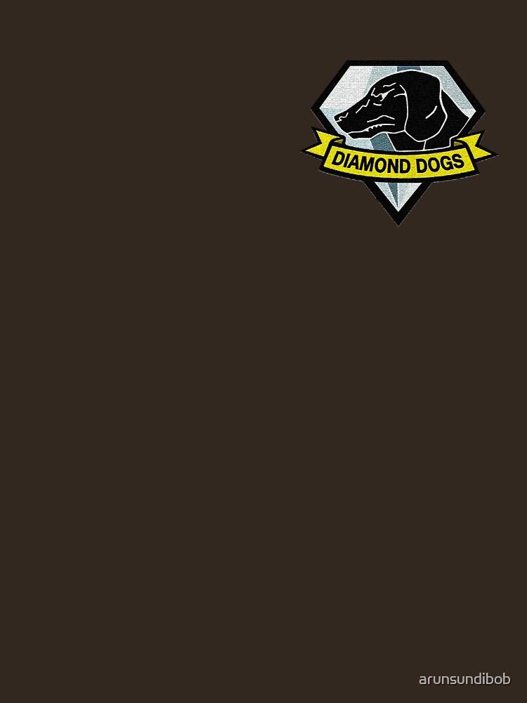 Metal Gear Solid V - Diamond Dogs Badge | Unisex T-Shirt