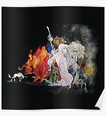 The Last Unicorn Poster