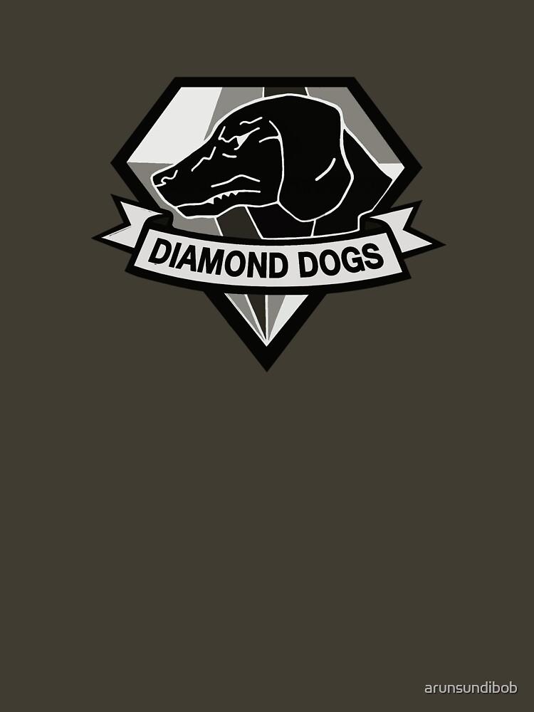 Metal Gear Solid V - Diamond Dogs (Monchromatic) | Unisex T-Shirt