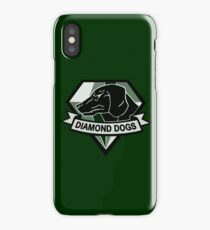 Metal Gear Solid V - Diamond Dogs (Monchromatic) iPhone Case