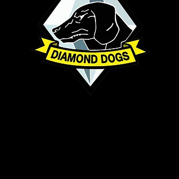 Metal Gear Solid V - Diamond Dogs by arunsundibob