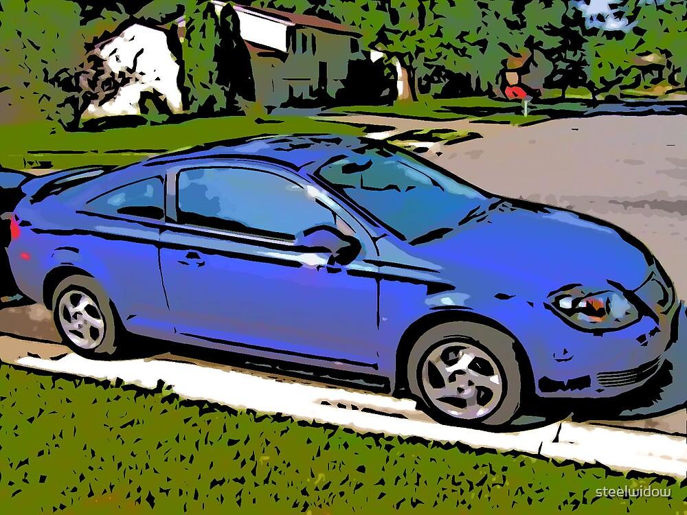 Comic Abstract Pontiac G5 by steelwidow
