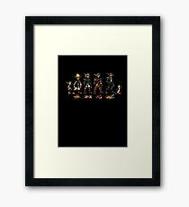 Jak and Daxter Saga - Full Colour Sketched Framed Print