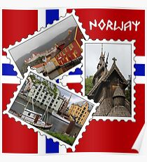 Norway Collage Poster