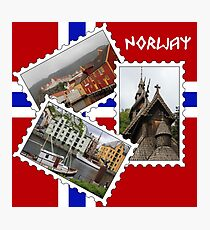 Norway Collage Photographic Print