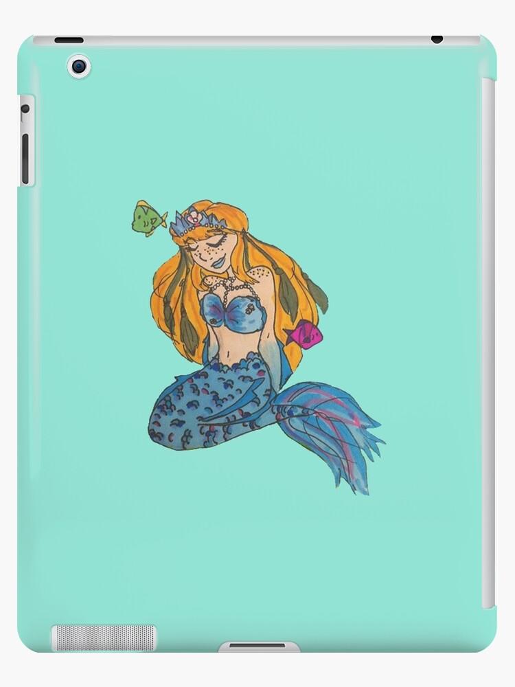 Blaue Meerjungfrau von CosmicHoneyBees