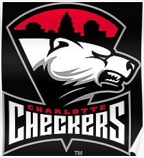 charlotte checkers Poster