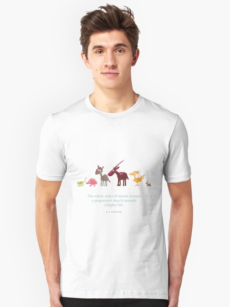 the march Unisex T-Shirt Front