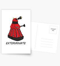 Exterminate! Postcards