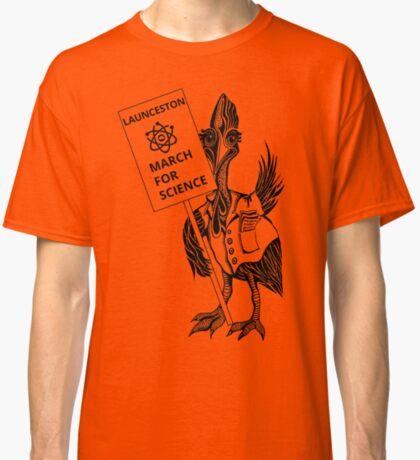 March for Science Launceston – Cassowary, black Classic T-Shirt