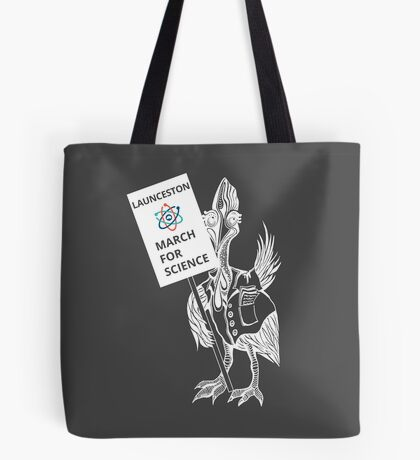 March for Science Launceston – Cassowary, white Tote Bag
