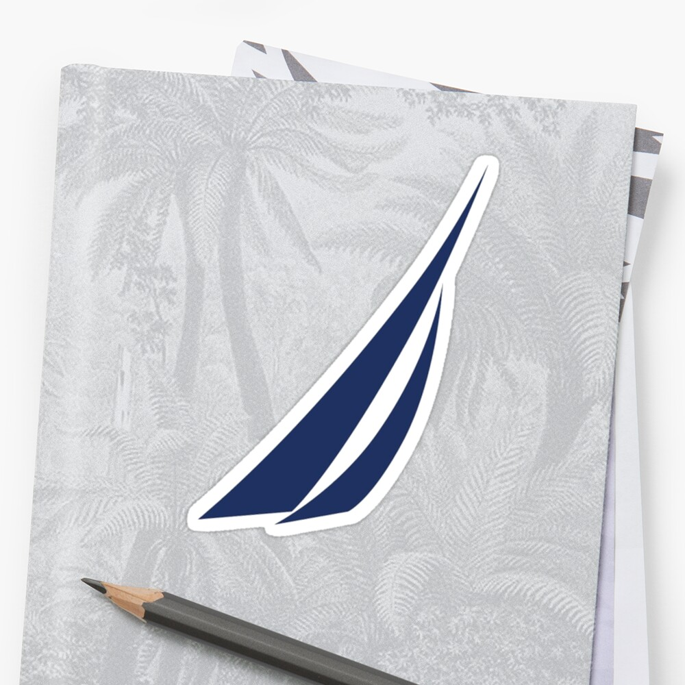 Nautica Logo Sticker
