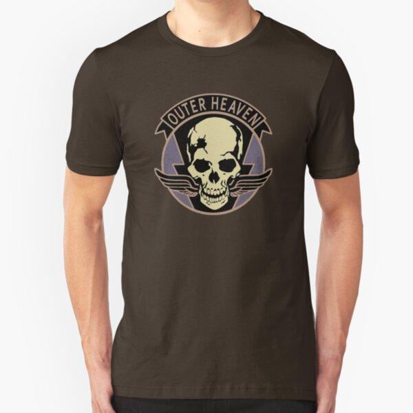 Metal Gear Solid V - Outer Heaven (Black) Slim Fit T-Shirt