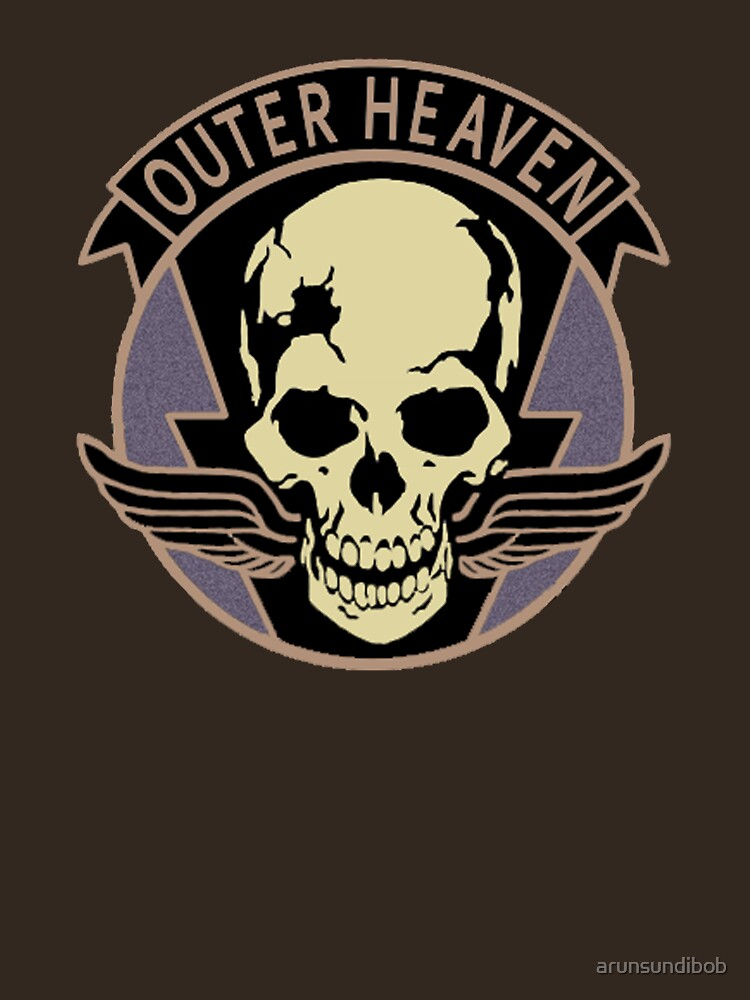 Metal Gear Solid V - Outer Heaven (Black) | Unisex T-Shirt