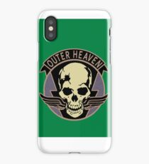 Metal Gear Solid V - Outer Heaven (Black) iPhone Case