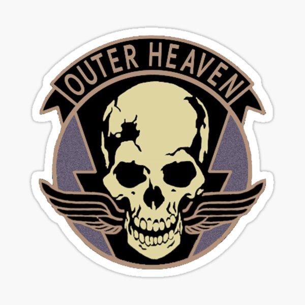 Metal Gear Solid V - Outer Heaven (Black) Sticker