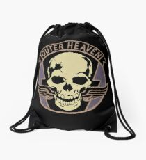 Metal Gear Solid V - Outer Heaven (Black) Drawstring Bag