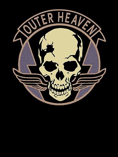 Metal Gear Solid V - Outer Heaven by arunsundibob