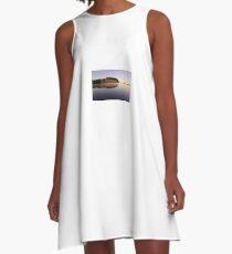 Wisconsin River A-Line Dress