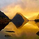 Milford Sound Silhouettes by Adam Gormley