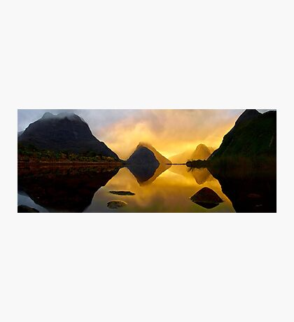 Milford Sound Silhouettes Photographic Print