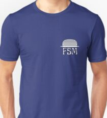Colander FSM (Flying Spaghetti Monster) Unisex T-Shirt