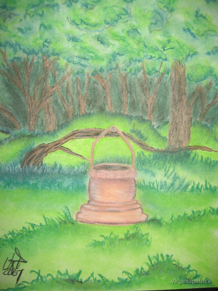 Wishing Well Forest by virginiapatrick