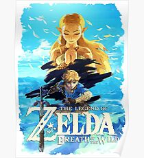 Zelda Breath of the Wild Poster