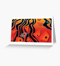 Gondwana River Greeting Card