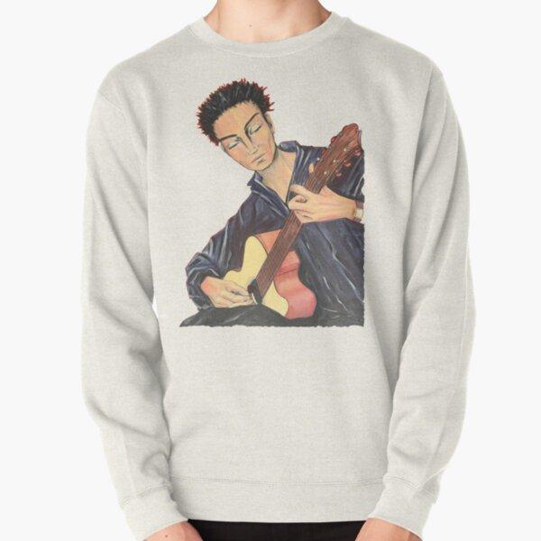 Guitar Man Pullover Sweatshirt