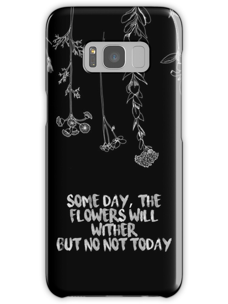 "Samsung Quote Cool Bts Not Today Song Quote V1"" Samsung Galaxy Cases & Skins."