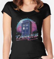 Rad Tardis Women's Fitted Scoop T-Shirt