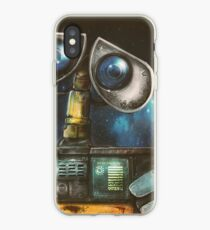 WALL-E Robot Painting iPhone Case
