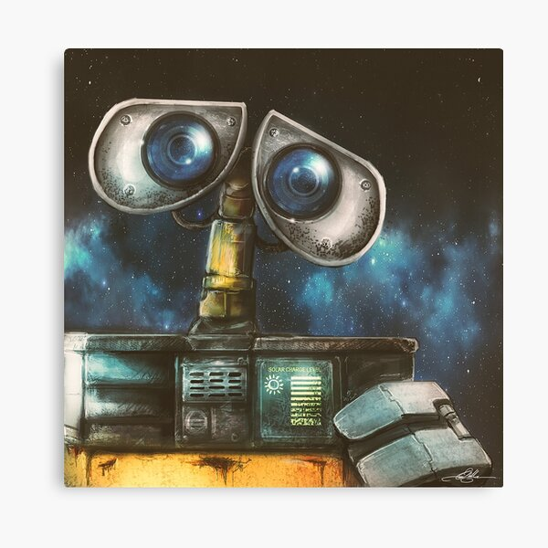 WALL-E Robot Painting Canvas Print