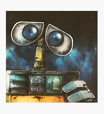 WALL-E Robot Painting Photographic Print